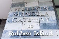 gateway to robben island Royalty Free Stock Photo