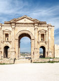 Gateway to the Roman ruins Royalty Free Stock Images