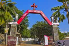 Gateway to the st. Thomas mountain Royalty Free Stock Images