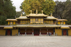 Gateway to the Summer Palace - Lhasa - Tibet Royalty Free Stock Image