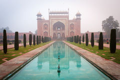 Gateway to the taj mahal. Stock Images