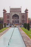Gateway to the Taj Mahal Stock Photo
