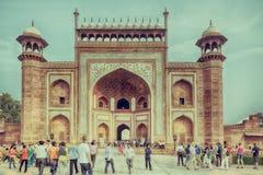 Gateway to Taj Mahal, Agra, India Royalty Free Stock Photo