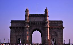 Gateway van India royalty-vrije stock foto's