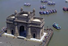 Gateway van India, Mumbai royalty-vrije stock foto's