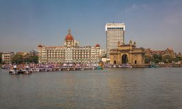 Gateway van India in Mumbai royalty-vrije stock afbeelding