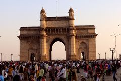 Gateway van India, Mumbai stock afbeelding