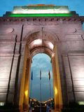 Gateway van India in New Delhi stock fotografie