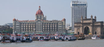Gateway vers l'Inde Image stock
