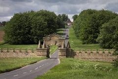 Gateways along The Stray at Castle Howard royalty free stock photo