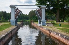 Free Gateways Sluice Locks Royalty Free Stock Photos - 97356298
