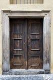 Gatewey - oude deur Stock Afbeeldingen
