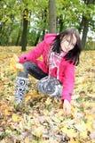gather листва Стоковое Изображение
