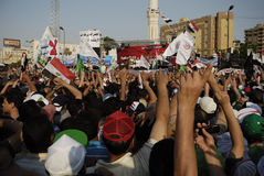 Gather in Rabaa el-Adawya Royalty Free Stock Images