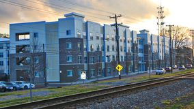 Gather On Southern Apartment Complexes in Memphis Royalty Free Stock Photos
