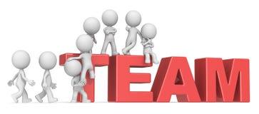 Gather the Team. Stock Photos
