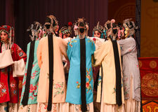 """Gather together- Beijing Opera"""" Women Generals of Yang Family"""" Royalty Free Stock Photography"""
