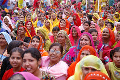 Gathering of brahmin woman Stock Photo