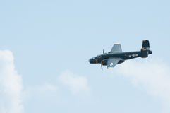 2014 Gathering of Eagles Air Show B-25 Champaign Gal Stock Photos