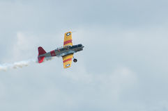 2014 Gathering of Eagles Air Show Vintage Propeller Airplane Royalty Free Stock Images