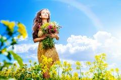 Free Gathering Flowers Stock Photo - 43361690