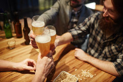 Gathering in pub Stock Photography