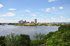 Gatineau Skyline, Quebec, Canada Royalty Free Stock Images