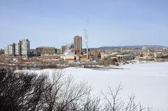 Gatineau skyline, Quebec, Canada Royalty Free Stock Photography