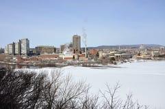 Gatineau skyline, Quebec, Canada Royalty Free Stock Photography