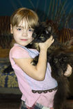 Gatito preferido Imágenes de archivo libres de regalías
