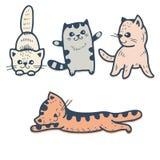 Gatitos stock de ilustración