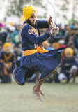 Gatka -  war form of sports for sikhs Royalty Free Stock Images