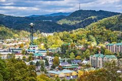 Gatlinburg Obraz Royalty Free