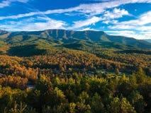 Gatlinburg Mountain View arkivfoto