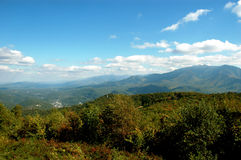 Gatlinburg Mountains Stock Photo
