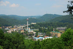 gatlinburg tennessee Arkivfoto