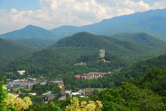 gatlinburg tennessee Arkivfoton