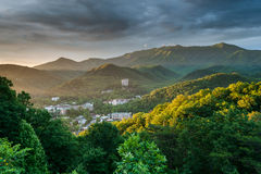 Gatlinburg Tennessee Great Smoky Mountains Resort City Royalty Free Stock Images