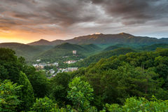 Gatlinburg Tennessee Mountain Resort Town Great Smoky Mountains Stock Photo