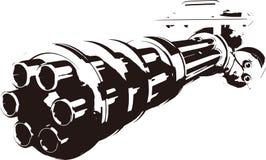Gatling stock illustration