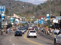 Gatlingburg van de binnenstad Tennessee Royalty-vrije Stock Foto's