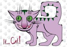 ? Gato! ilustração stock