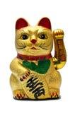 Gato afortunado Imagenes de archivo