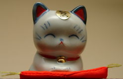 Gato afortunado japonés Fotografía de archivo