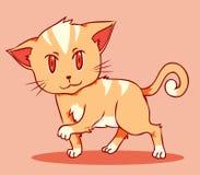 Gato anaranjado Libre Illustration