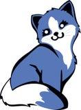 Gato azul Foto de archivo libre de regalías