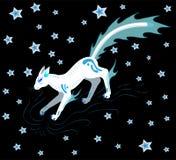 Gato da estrela ilustração royalty free