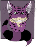 Gato de Cheshire Imágenes de archivo libres de regalías