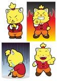 Gato de Kungfu Imagem de Stock Royalty Free