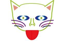 Gato de la fantasía Imagen de archivo libre de regalías